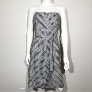 WHBM Dress Size 12 Strapless Cocktail A Line Party